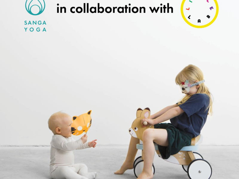 Sanga Yoga and Lille Lab to offer kids yoga and barselyoga